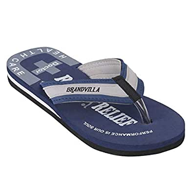 brandvilla Doctor Extra Soft Slipper Ortho Care Orthopaedic Comfort Dr.Slipper for Men's