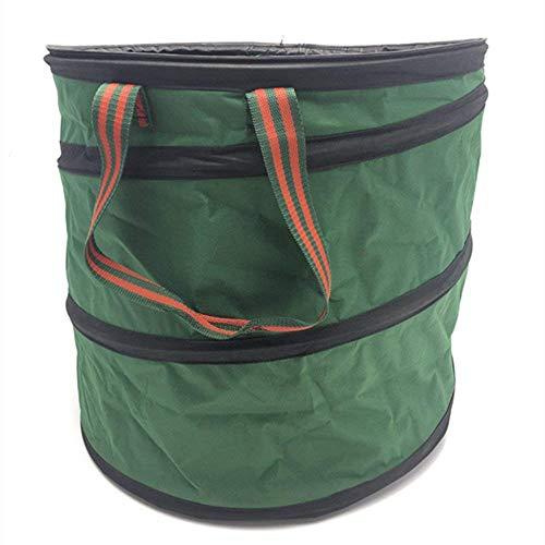 Guoyajf Pop-up Sack Für Garten, Premium-Garten Müllsäcke aus Sehr Langlebigem Oxford 600D Polyester Blatt Säcke Stehen und Faltbar, 47Cm × 50Cm