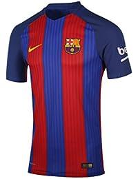 Nike FCB M SS Hm Vapor Match JSY - Camiseta Línea F.C. Barcelona para  Hombre 4748ca4e645