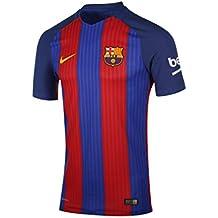 Nike FCB M SS Hm Vapor Match JSY - Camiseta Línea F.C. Barcelona para  Hombre de283cd2bf9e1