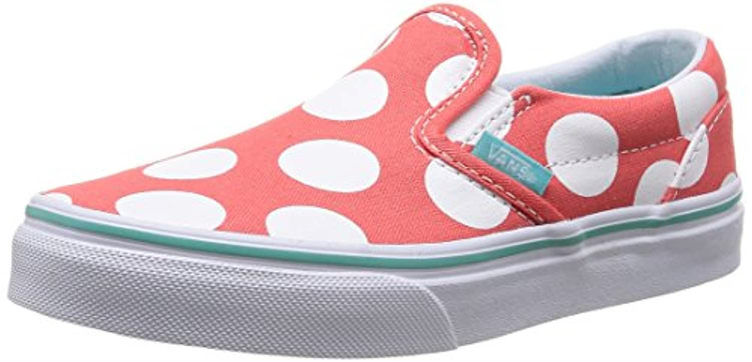 Vans Unisex Kids' K Classic Slip-on Fashion Multicolour Size: 2 UK