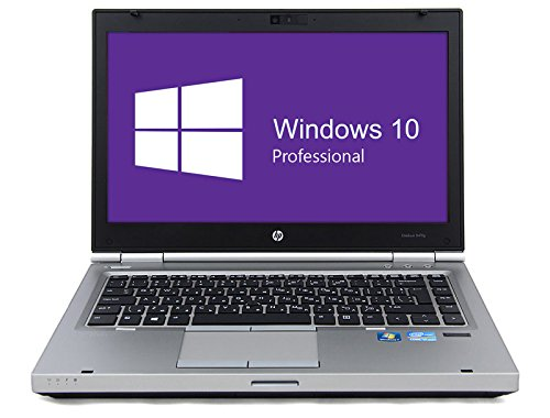 HP Elitebook 8470p Notebook | 14 Zoll Display | Intel Core i5-3320M @ 2,6 GHz | 8GB DDR3 RAM | 320GB HDD | DVD-Laufwerk | Windows 10 Pro vorinstalliert (Generalüberholt)