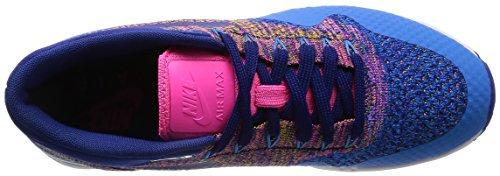 Nike Air Max 1 Ultra Flyknit, Damen 843387-400 Turnschuhe Mehrfarbig (Blau)
