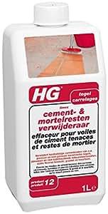 HG Effaceur pour Voiles de Ciment Tenaces et Restes de Mortier N° 12 1000 ml