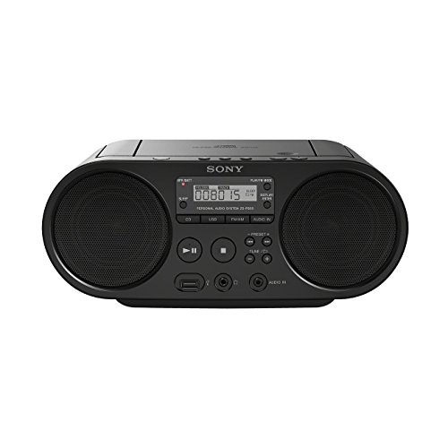 Sony ZSP-S50B Lecteur CD/MP3, USB, Radio - Noir