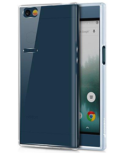 Nextbit Robin Hülle - Fosmon [DURA-T] [Slim] Handy Schutzhülle Etui TPU Case Cover Abdeckung für Nextbit Robin (Transparent / Klar)