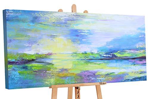 YS-Art Cuadro acrílico Valle Deseos| Pintado Mano