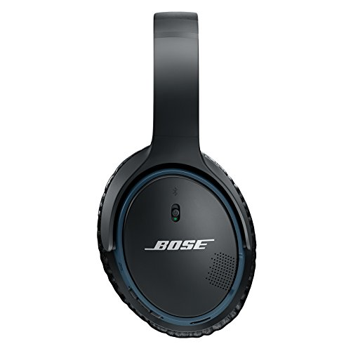 Bose SoundLink Wireless Around-Ear Headphones with Mic (Black) Image 4
