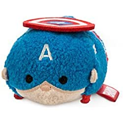 Captain America Tsum Tsum Mini Soft Toy by Disney