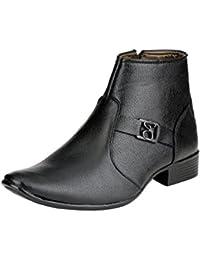 Server Men's Perfect Black Colored Shoe | Formal Shoes For Men's | Casual Shoes | Party Wear Shoes | Casual Shoe...