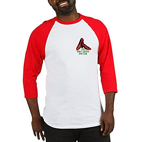 CafePress - Ruby Slipper Fan Club - Cotton Baseball Jersey, 3/4 Raglan Sleeve Shirt