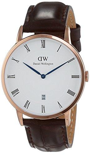 daniel-wellington-1102dw-orologio-da-polso-uomo-quarzo-cinturino-maroone-scuro-quadrante-bianco