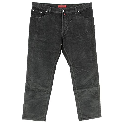 Pierre Cardin, Deauville, Herren Jeans Hose, Stretchcord, schwarz, W 42 L 34 [22210]