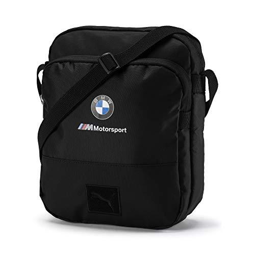 PUMA BMW M Motorsport Große Schultertasche Puma Black OSFA