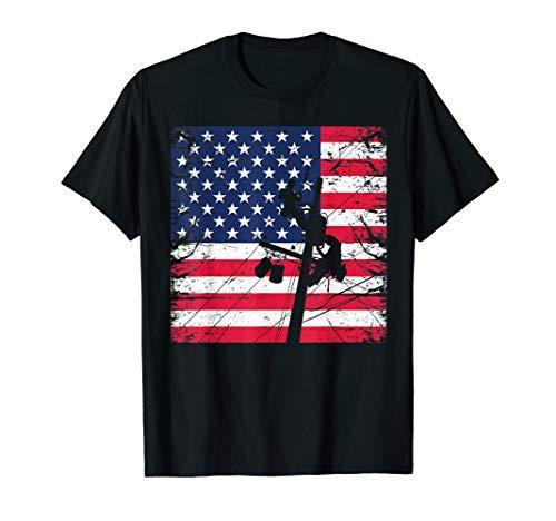 Geschenk-T-Shirt für amerikanische Linemen T-Shirt -