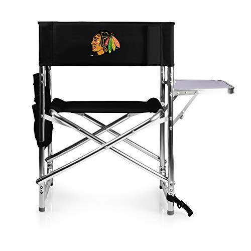 Chicago Beistelltisch (NHL Chicago Blackhawks Sportstuhl, zusammenklappbar)