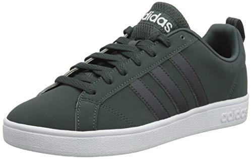 adidas Herren VS Advantage Tennisschuhe, Mehrfarbig (Hieley/Grisei/Ftwbla 000), 43 1/3 - Adidas Tennis Vs Advantage
