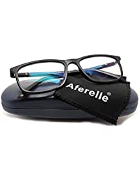 Aferelle® Silvercare Blue Cut glasses with UV420 and Anti-Reflection Protection for Healthy Eyes (SILVERCARE | medium)