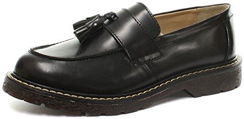 Grinders Cuthbert Herren Loafer Black