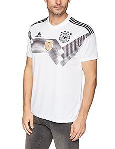adidas DFB Trikot Home WM 2014 Herren,Weiß/Schwarz,M