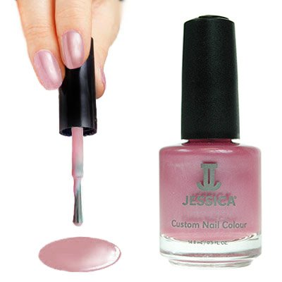 Jessica Nails Desert Rose Pink Custom Colour Nail Polish/Varnish - 492
