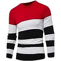 Ansenesna Camisetas Hombre Manga Camisas Corta Sudaderas SuéTer del Invierno del OtoñO del Jersey Jersey Delgado Outwear