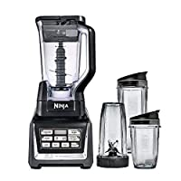 Nutri Ninja Bl642 Blender 1500 Watt With Auto-Iq Xl 72 Ounce W/Three Nutri Ninja Cups (18Oz, 24Oz And 32Oz)