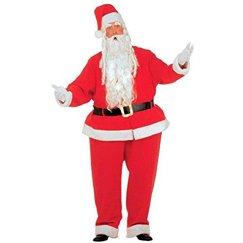 senenkostüm Dicker Weihnachtsmann, Reifhemd und Reifhose, Kasack, Gürtel, Hut, rot (Fett Outfit Ideen)