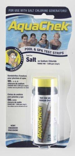 Aquachek Salz-Teststreifen für Pools (Teststreifen Salz-pool)