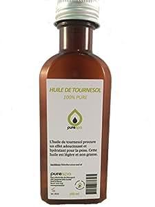 Huile de MASSAGE NEUTRE sans parfum, 100% végétale -100% PURE - 100ml