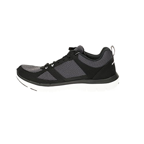 Skechers Flex Advantage 2.0, Scarpe da Ginnastica Uomo Black/White