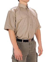 Mil-tec chemise coloniale manche à manches courtes-homme-kaki 3XL Kaki - kaki