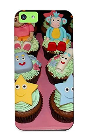 Ednahailey Faddish Phone The Cupcake Tand Dora The Explorer Cupcakes Case For Iphone 5c / Perfect Case Cover