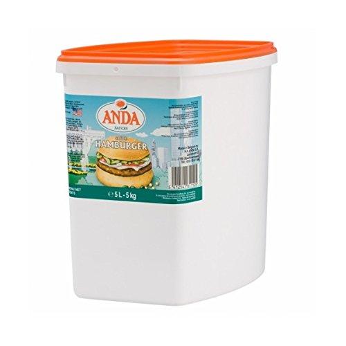 Anda - Sauce Hamburger 5L