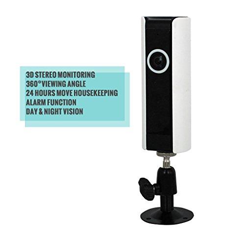 Pinkbenmus 720P HD Zuhause ÜBerwachungskamera-Sicherheit ÜBerwachungskamera Bewegungsmelder FüR Haus UnterstüTzung FüR IOS & Android ÜBerwachungskamera Infrarot Nachtsicht Bewegungserkennung IR Nachtsicht (Sony Camcorder Infrarot)