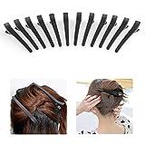 WOWOSS 12 Stück Haarspange Haar Klammer Combi-Clip Karte Hair-Clips Abteilklammern Hair-Clips Combi aus Kunststoff