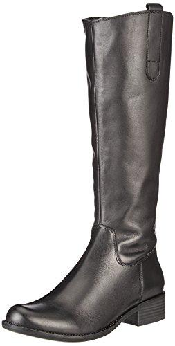 Caprice Damen 25509 Stiefel, Schwarz (22), 38.5 EU (Schwarz Leder Stiefel)