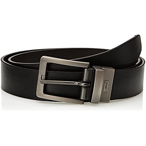 Levi's Reversible Slim Brushed Housemark - Cinturón Hombre