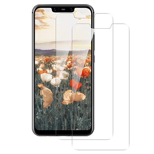 Bigmeda Panzerglas Schutzfolie für Huawei Mate 20 Lite, [2 Stück] 9H Härte HD Bildschirmschutzfolie, Anti-Kratzer, Blasenfrei, Anti-Fingerabdruck Panzerglasfolie Screen Protrector für Mate 20 Lite