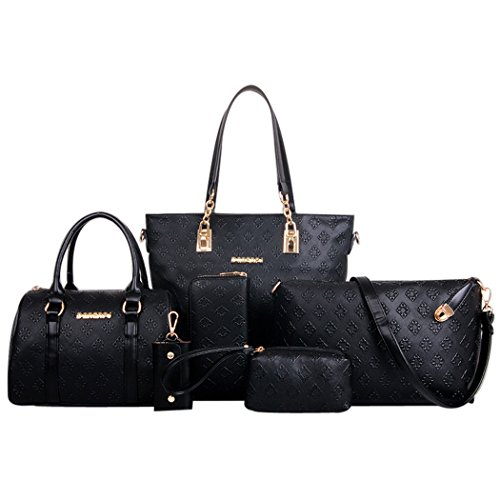 Coofit Damen Taschenset, 6-teilig