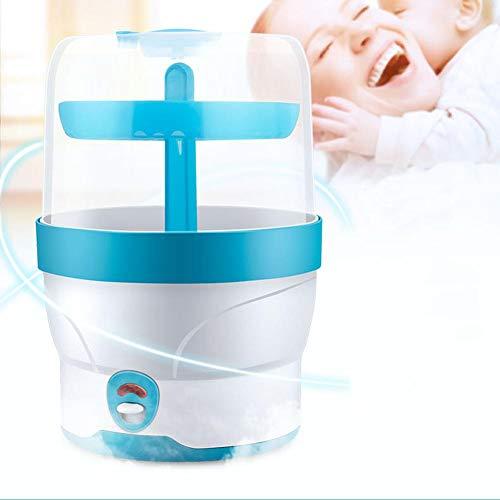 G-wukeer Babyflaschen-Sterilisator Dampfgarer Dampfkessel mit großer Kapazität Geeignet für Babys