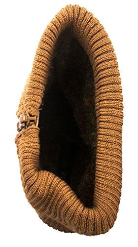 Elara , Bottes classiques femme Camel