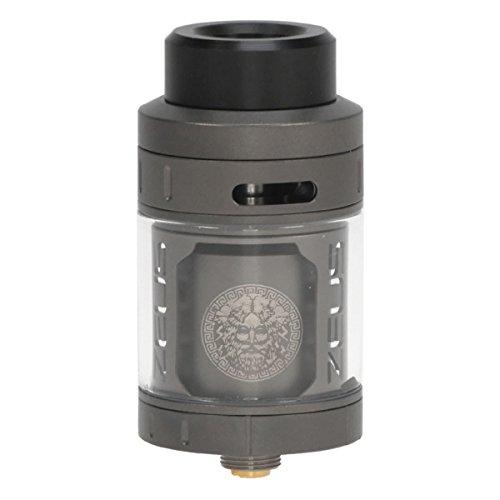 Riccardo Zeus RTA Clearomizer, Tankvolumen 4 ml, Durchmesser 25 mm, Selbstwickler, GeekVape Verdampfer für e-Zigarette, gunmetal