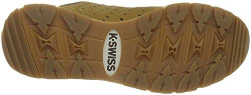 K-Swiss Herren Norfolk Low-Top Braun (Bone Brown/Espresso)