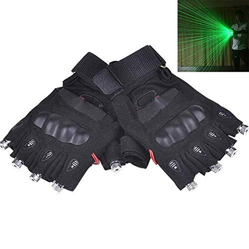 ANLW LED-Handschuhe beleuchten leuchten Handschuhe für Vier Finger Erwachsene blinkende Party Kostüm Glow Toys, Weihnachtsgeburtstagsgeschenk (Glow Partys Kostüm)