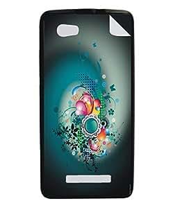 Techno Gadgets Back Cover sticker for XoloA500s