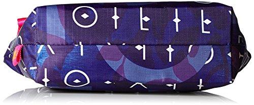 Oilily - Ruffles Cosmeticpouch Mhz 1, Pochette da giorno Donna Blu (Dark Blue)