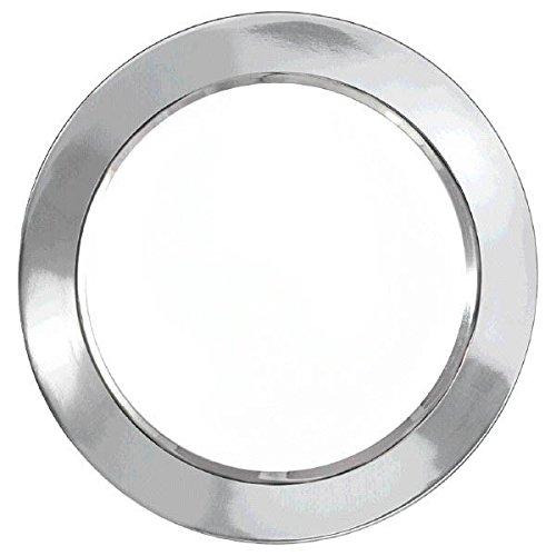 Amscan 43007219,5cm Premium Silber Grenze Kunststoff Teller