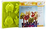 Monster- Pops Set aus Silikonform 8-fach