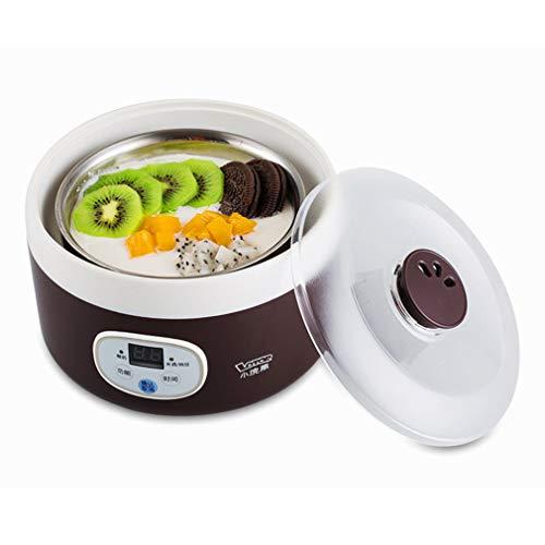 CICIN Máquina de Yogurt, fermentación de la máquina de Yogurt Vasos de Apagado automático de Gran Capacidad para el hogar Mini Mini Yogurt casero